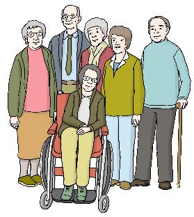Eine Gruppe Menschen