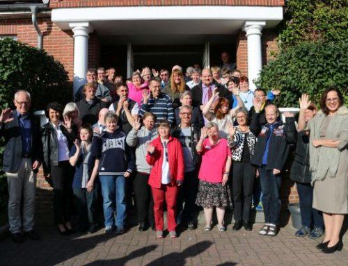 20 bis 45 Jahre für die Stiftung Mensch tätig – Feierliche Ehrung für 40 Jubilare