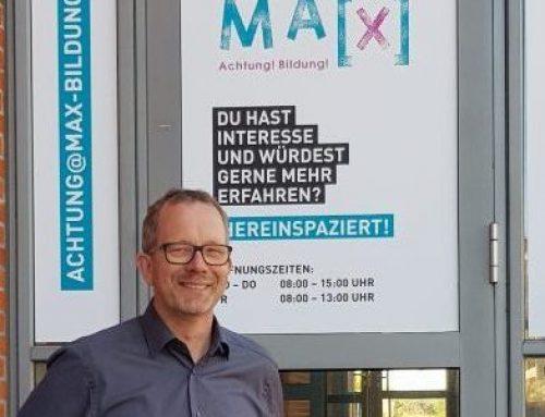 Qualifizierung im MA`X- Motivations- und Ausbildungszentrum eröffnet im Mai!